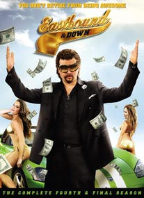 Eastbound & Down Season 4 DVD / Bluray